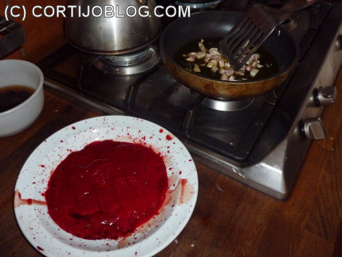 Fried Chicken Blood