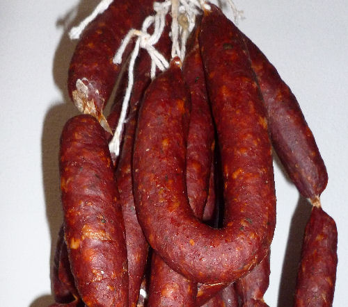 Home-made chorizo