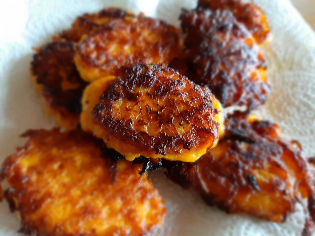 butternut bhajis
